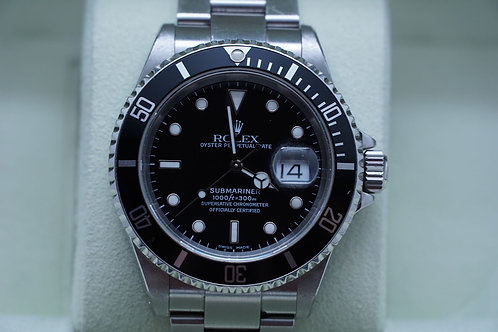 Rolex Submariner Date 40mm 16610 K serial
