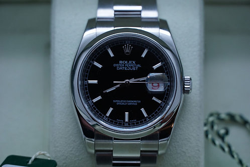 Rolex Datejust 36mm 116200 M Roulette Engraved