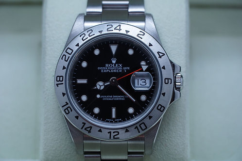 Rolex Explorer II 40mm Black 16570 P serial Complete