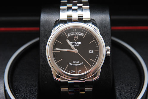 Tudor Stainless Date-day 39mm Glamour 56000