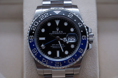 Rolex GMT Master II 40mm Batman 116710