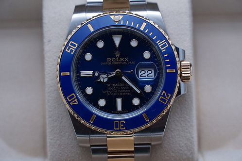 Rolex Submariner Ceramic Bluesey Two Tone 40mm 116613LB