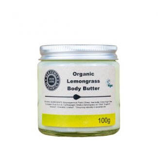 Heavenly Organics Organic Lemongrass Body Butter