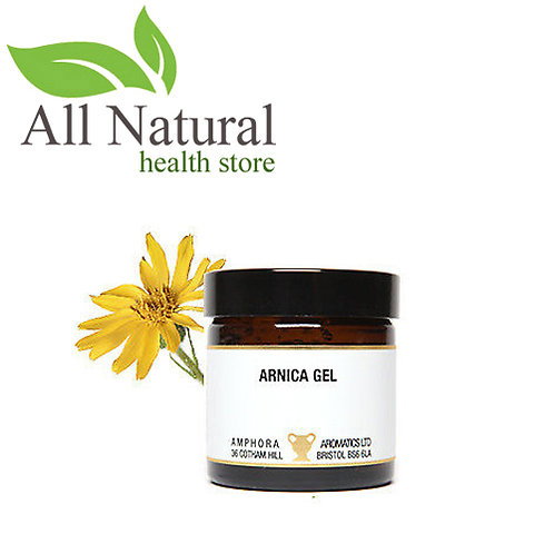 AMPHORA AROMATICS ARNICA GEL WITH ROSE AROMATHERAPY GEL 60ml
