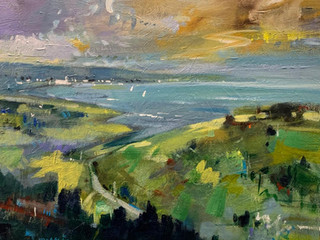 HIGH ABOVE THE ESTUARY by KEN ROBERTS