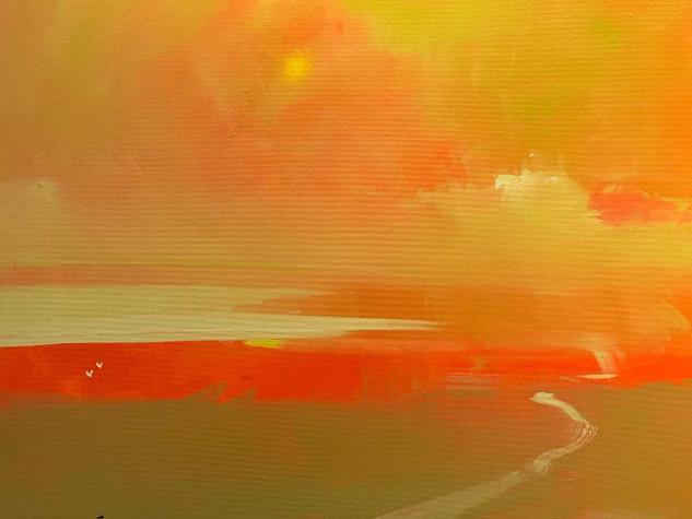 SUNSET HAZE, LARGO BAY by KEN ROBERTS