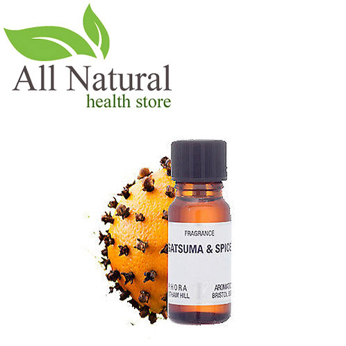 AROMATICS SATSUMA & SPICE FRAGRANCE OIL 10ml