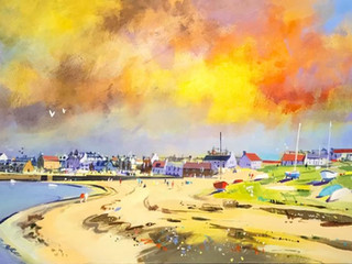 A SUMMER'S DAY, ELIE by KEN ROBERTS