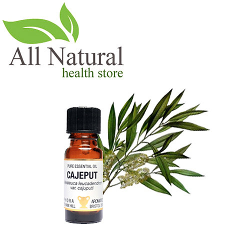 AMPHORA AROMATICS CAJEPUT ESSENTIAL OIL 10ml