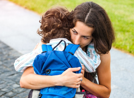 What to do When a Child Finds Settling in at Nursery Hard.