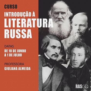 Curso de Introdução à Literatura Russa