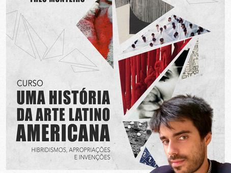 Curso História da Arte Latino-Americana aberto para inscrições!