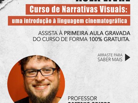 Aula livre do curso de Narrativas Visuais!