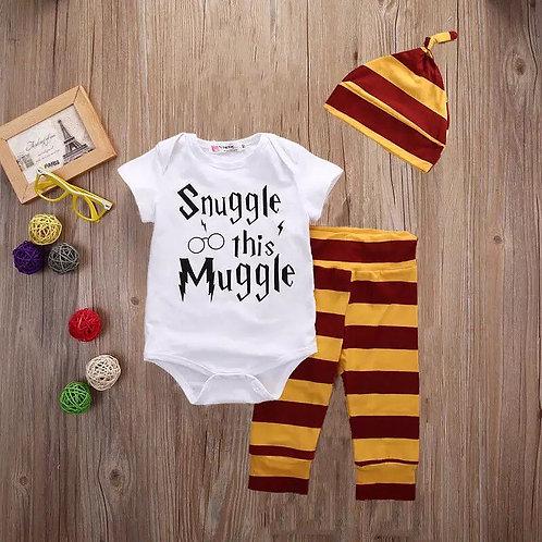 Conjunto 3 piezas Harry Potter