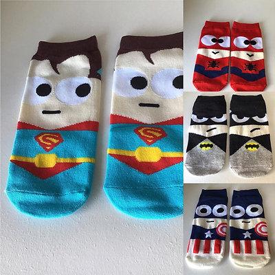Súper calcetines para pequeños Héroes