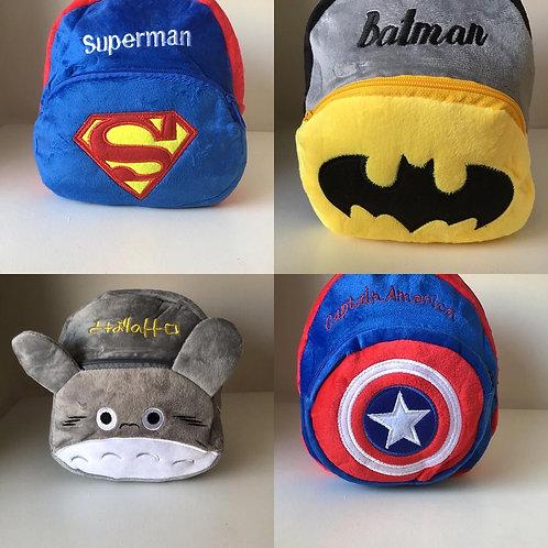 Mochilas Super Héroes