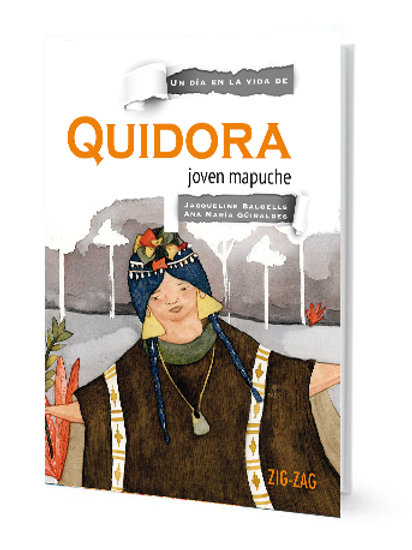 Quidora. Joven mapuche
