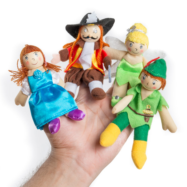 marionetas-de-dedo-de-peter-pan