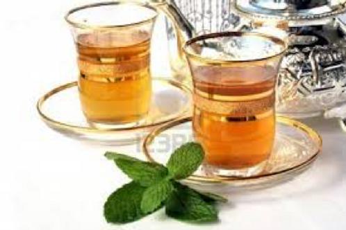 Thé vert aromatisé - Thé Marocain - 100 gr