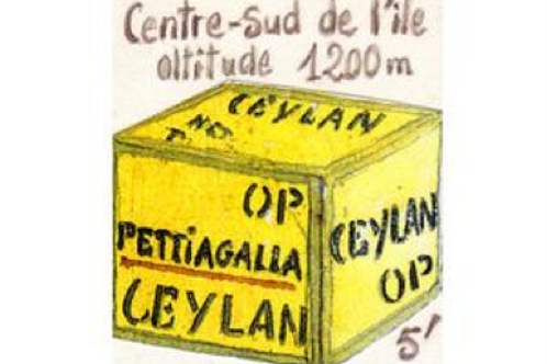 Thé noir Sri Lanka-Ceylan Pettiagala OP - 100 gr