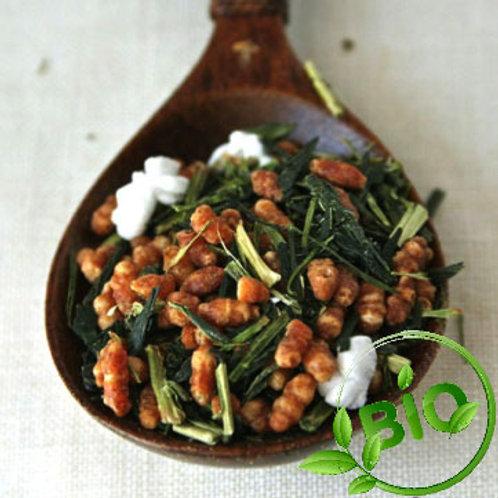 Thé vert du Japon - Gen Maicha BIO  - 100 gr
