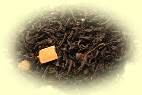 Thé noir aromatisé - Caramel - 100 gr