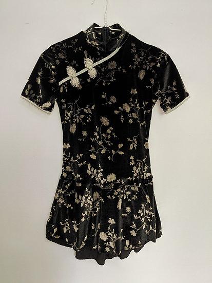 Oriental-style Velvet Skating Dress ($106 USD)