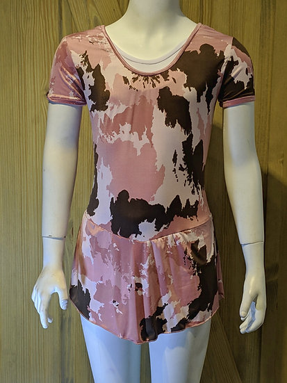 Pink Camouflage Skating Dress ($53 USD)