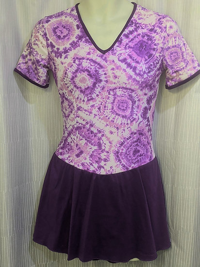 Purple Tie-Dyed Skating Dress ($68 USD)