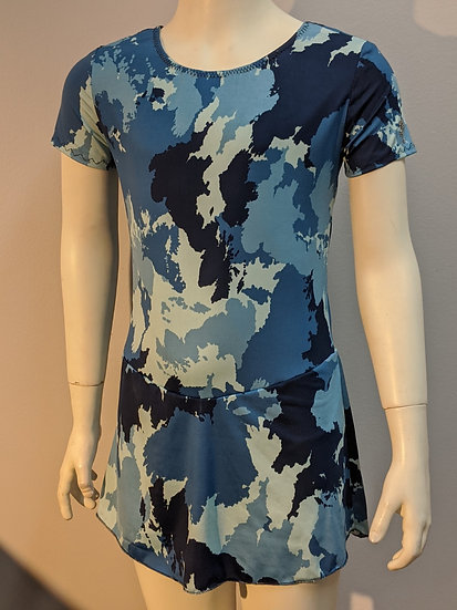Blue Camouflage Skating Dress ($39 US)