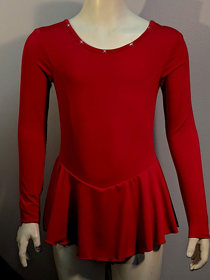 Red Skating Dress with Swarovskis ($39 US)