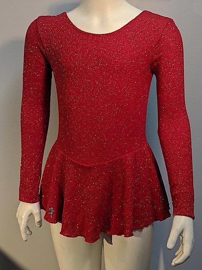 Red Sparkle Skating Dress ($39 US)