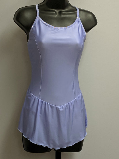 Periwinkle Blue Skating Dress with Swarovskis ($79 USD)