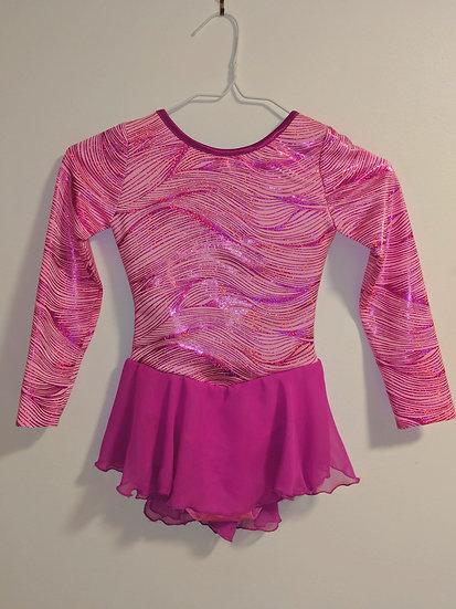 Bright Pink w/ Magenta Skating Dress ($68 USD)