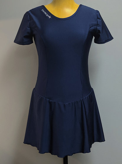 Navy Blue Skating Dress ($36 USD)