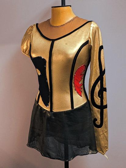 Phantom of the Opera Inspired Skating Dress ($297 USD)