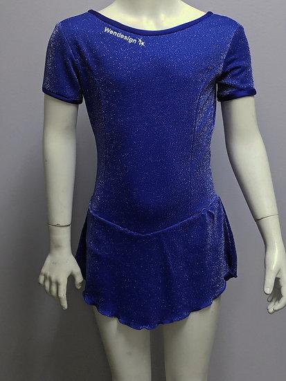 Royal Blue Sparkle Skating Dress ($36 US)