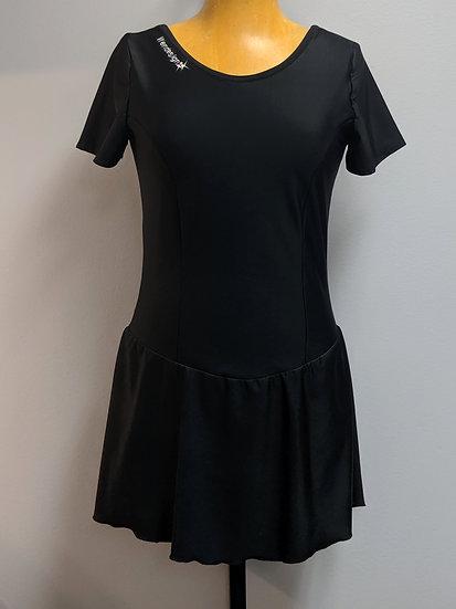 Black Spandex Skating Dress ($36 USD)