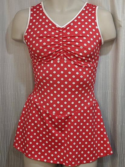 Red and White Polka Dot Skating Dress ($62 USD)
