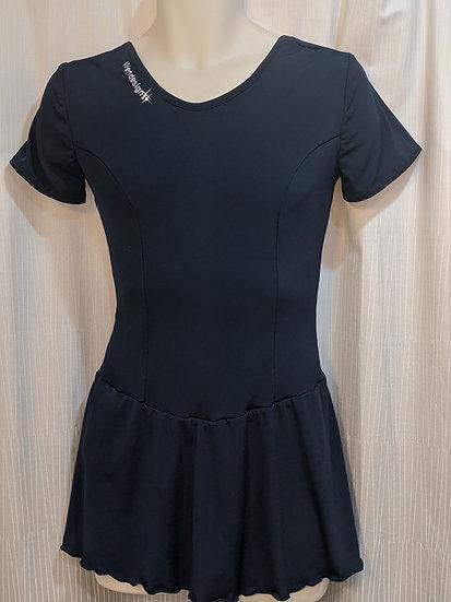 Dark Navy Blue Skating Dress ($36 USD)