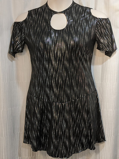 Black & Silver Skating Dress ($90 USD)