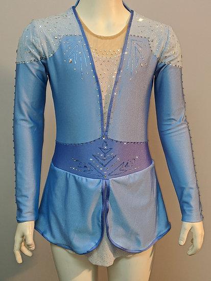 Elsa Frozen 2 Blue Skating Dress ($458 USD)