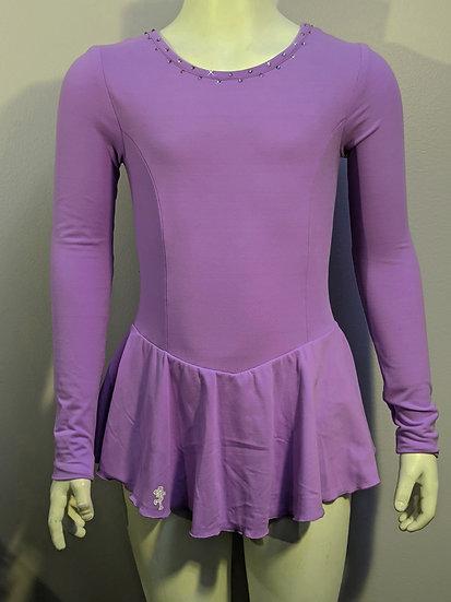Lavendar Skating Dress with Swarovskis ($39 US)