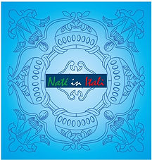 LOGO Naté in Italì colore azzurro AZZURR