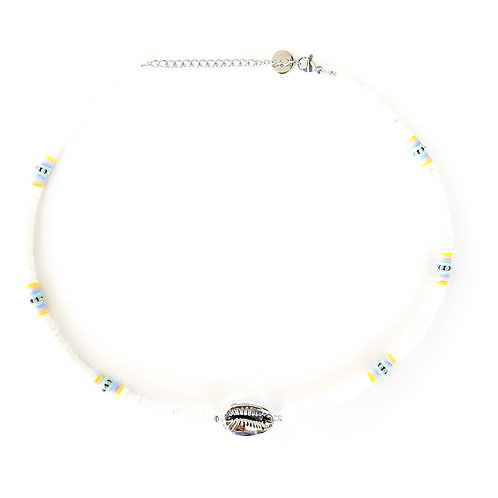 silver-white surfnecklace