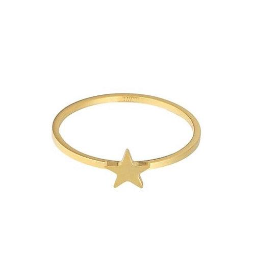 Mini star ring gold