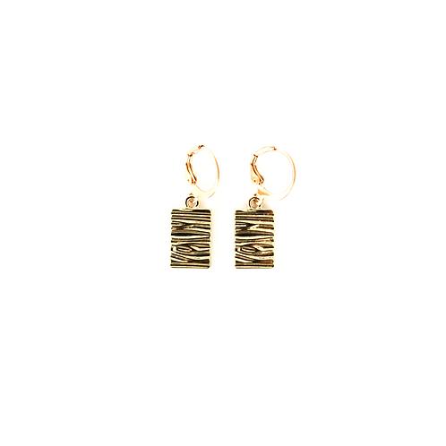 fall earrings gold