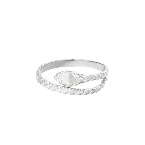 snake ring silver