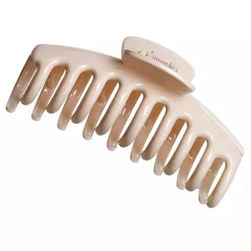 Hair clip beige