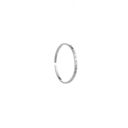 Fine ring silver
